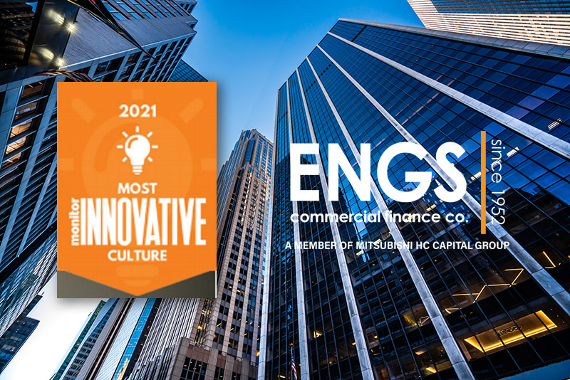 ENGS Named Monitor's Most Innovative Culture of 2021