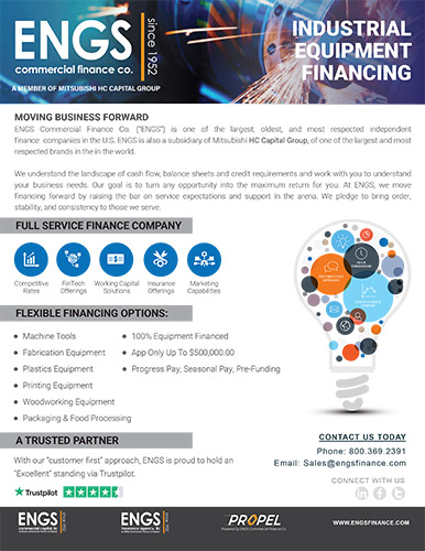 Industrial Financing One-Pager