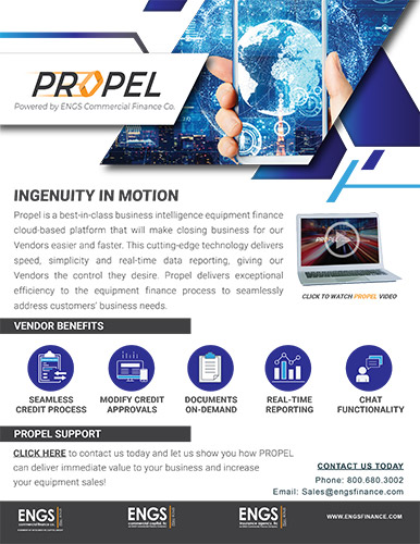PROPEL, Powered by ENGS Commercial Finance Co.
