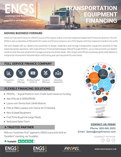 Transportation Financing One-Pager